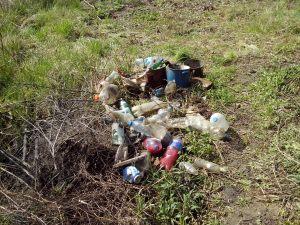 Deo sakupljenog otpada